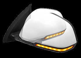Intelligent Folding Rearview Mirror