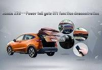 HONDA XRV Auto Electric Tailgate Lift Functional Demo