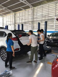 Changyi power tailgate in Thailand