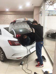 Changyi soft close automatic doors