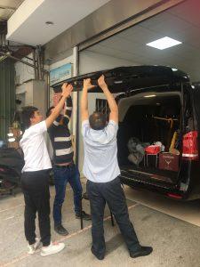 Changyi power rear door