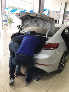 Changyi soft close tailgate installation