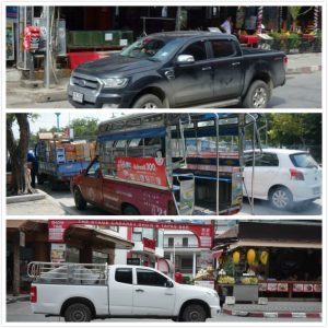 Changyi hands free tailgate is popular in Thailand