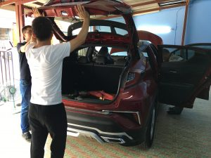 Changyi electric tailgate and engineers