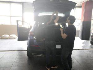 Changyi automatic tailgate installation