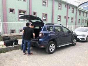 Changyi automatic tailgate demonstration